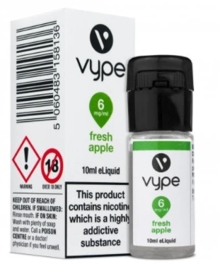 Vype 10ml Fresh Apple - Essential Collection