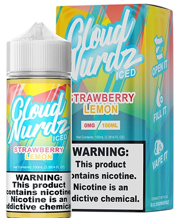 Cloud Nerdz Strawberry Lemon 100ml