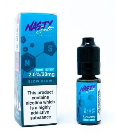 NASTY NICOTINE SALT SLOW BLOW PINEAPPLE WITH LEMONADE 10ML 20MG
