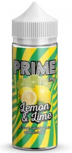 Prime Lemon & Lime 100ml