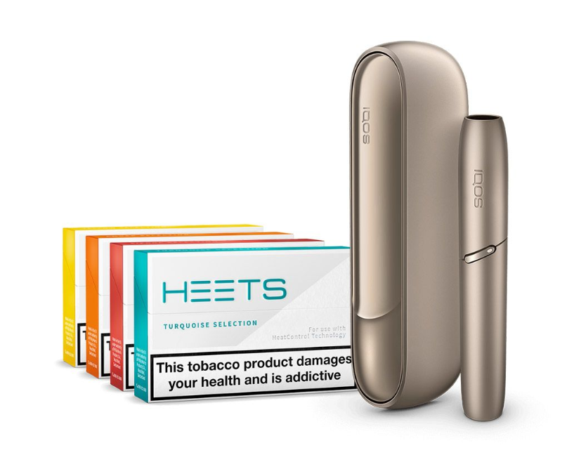 IQOS 3 Duo Starter Kit Gold + 80 HEETS Promo
