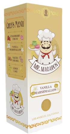 Mr Magaron Vanilla Marshmellow 100ml
