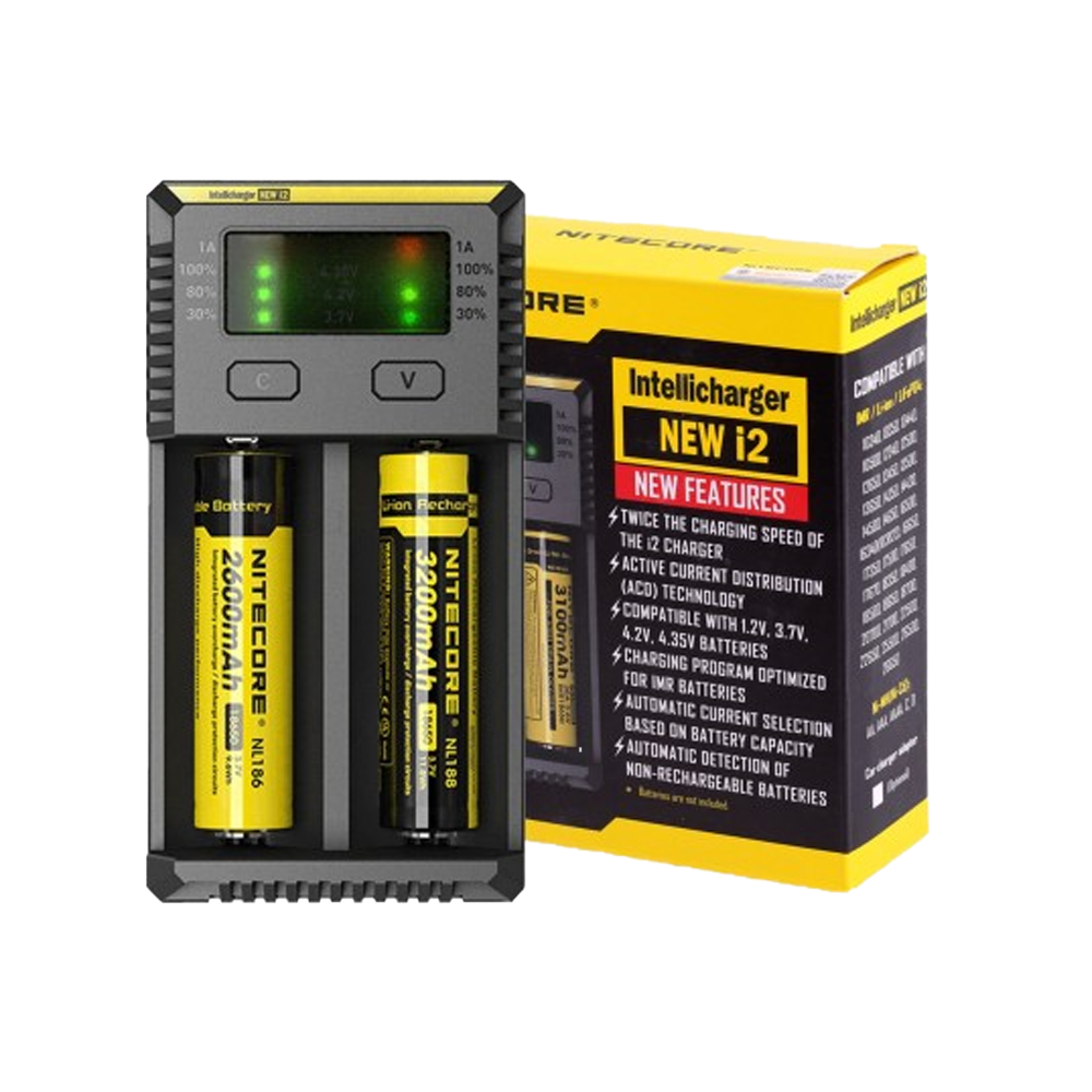 Nitecore – Intellicharger New i2