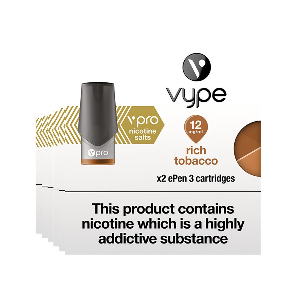 Vype ePen 3 vPro Rich Tobacco pack of 6