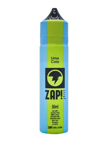 Zap Juice Lime Cola 50ml