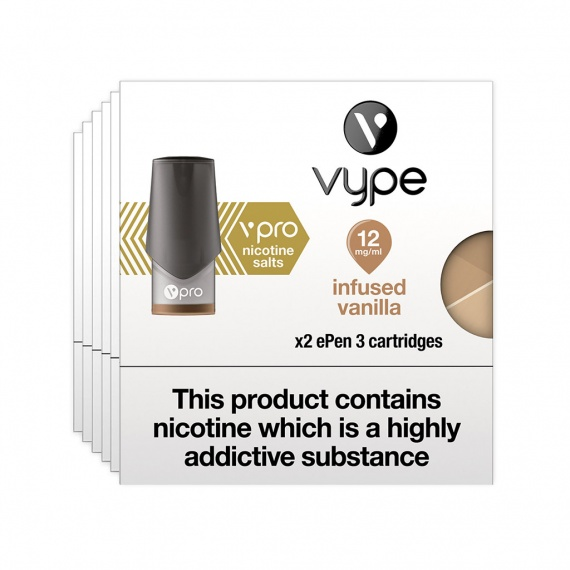 Vype ePen 3 Pods vPro Infused Vanilla - Nicotine Salts