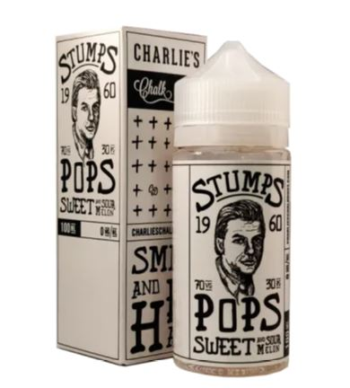 Charlie's Pops Sweet And Sour Melon 100ml