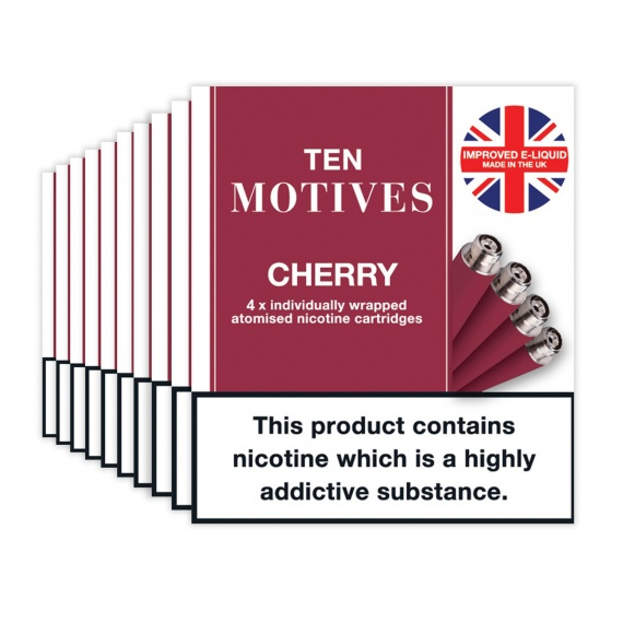 Cherry Flavour Refills Rechargeable