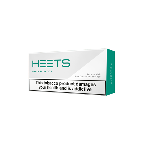Green Menthol HEETS (10 packs)