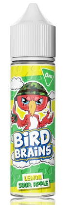 Bird Brains 50ml Lemon Sour Apple