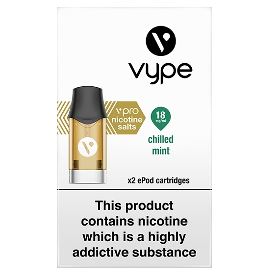 Vype ePod Cartridges vPro Chilled Mint