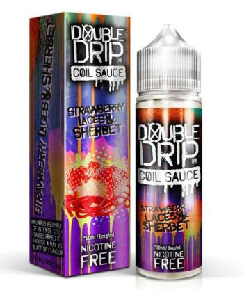 Double Drip Strawberry laces 50ml