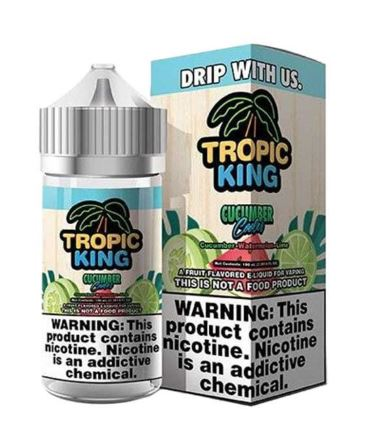 Tropical King Cucumber 120ml