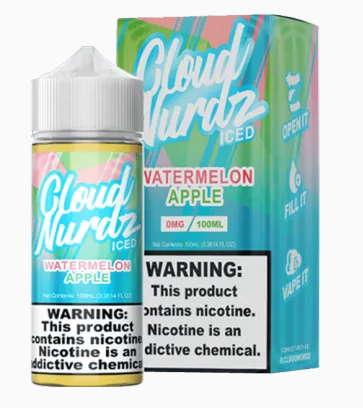 Cloud Nerdz Watermelon Apple ICED 100ml