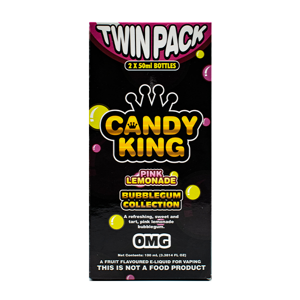 Candy King Bubblegum Collection Twin Pack 50ml Lemonade