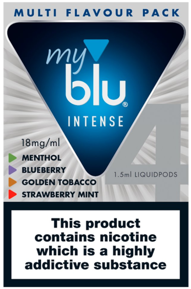 myblu™ Multi Flavour Pack Intense