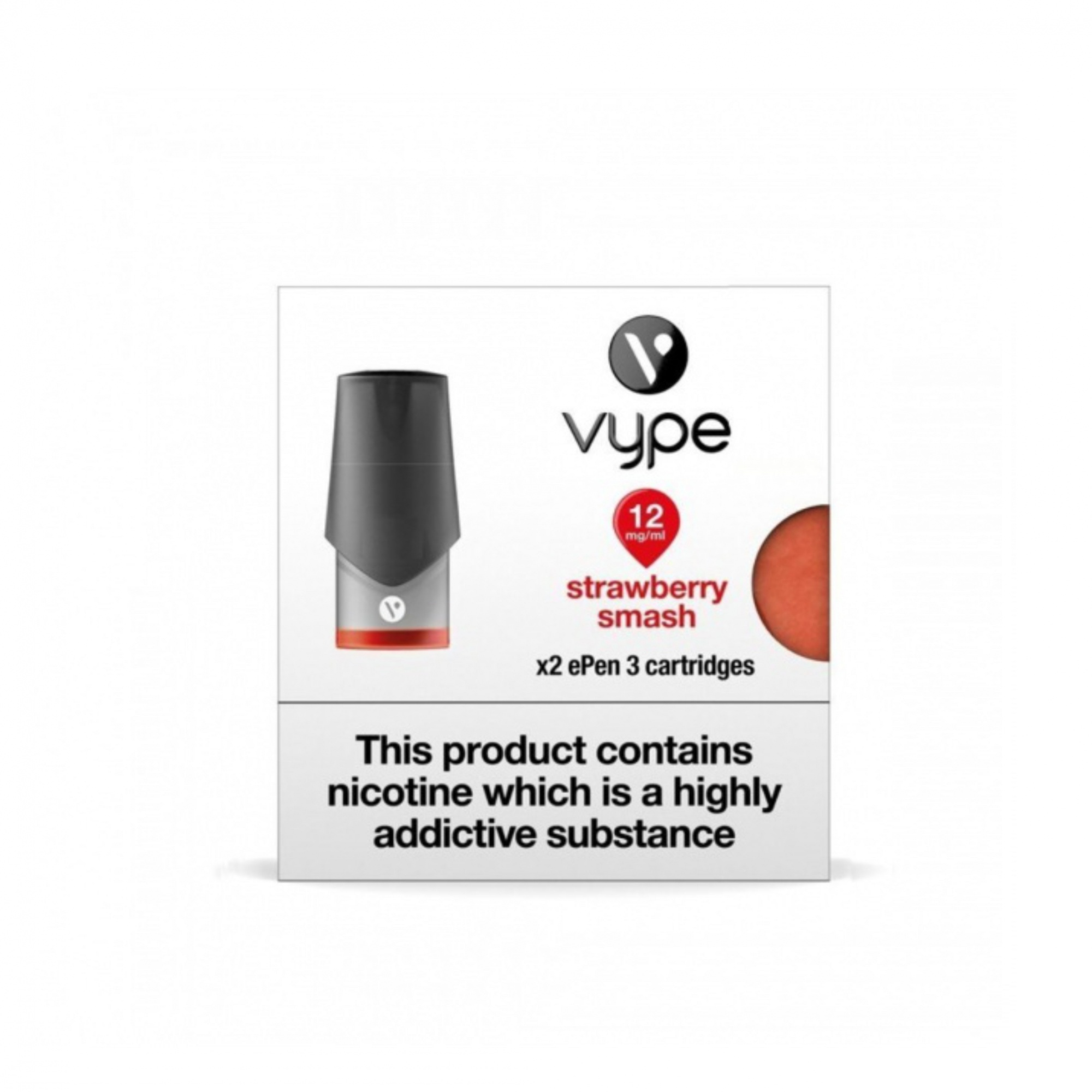 Vype ePen 3 Pods Strawberry pack of 6