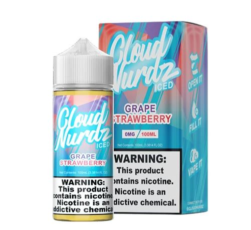 Cloud Nerdz Grape Strawberry ICED 100ml