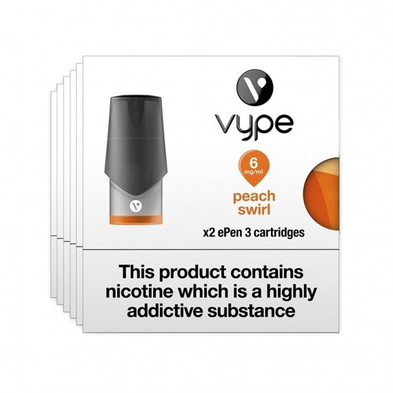 Vype ePen 3 Pods Peach - Flavoured Refill