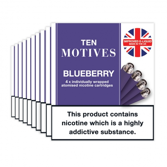 Blueberry Flavour Refills Rechargeable