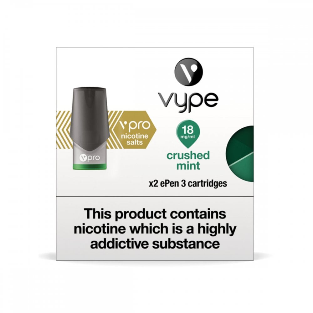 Vype ePen 3 Caps vPro Crushed Mint