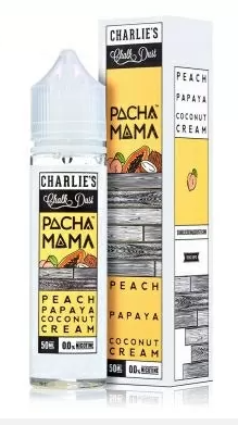 Charlie's Pacha Mama Peach Papaya Coconut Cream 50ml