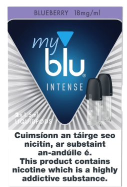 Myblu™ Intense Liquidpod Blueberry Flavour