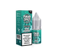 Pukka Juice 50/50 Triple Menthol 3mg 10ml