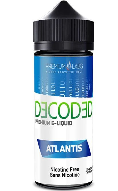 Decoded Atlantis Pineapple Blueberry Guava 120ml