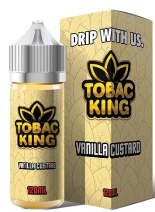 Tobac King Vannila Custard 120ml