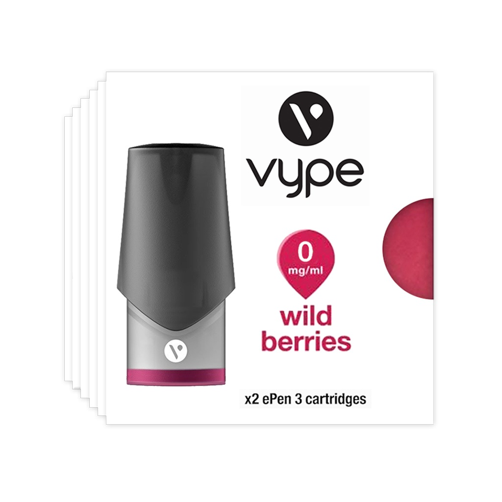 Vype ePen 3 Pods Wild Berries pack of 6